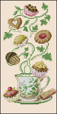Petits fours pattern fancywork