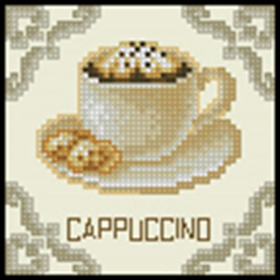 Cappuccino схема вышивки крестом