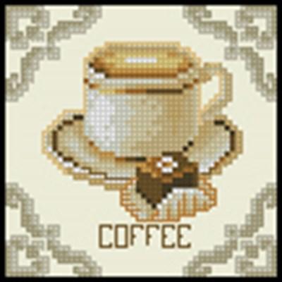 Coffee схема вышивки крестом
