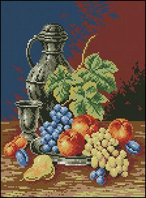 Kielich i owoce