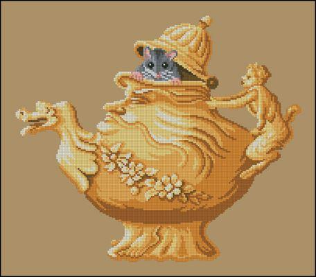 Мышь - грелка