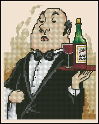 Wine Anyone? вышивать