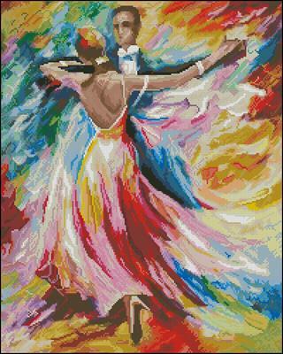 Dance of Love вышивка