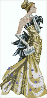 Lady Alexandra вышивка крестиком