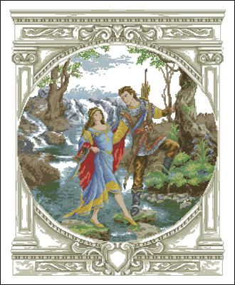 Robin Hood вышивка крестом