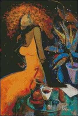 Оранжевая дама