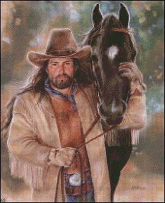 Ковбой и его конь