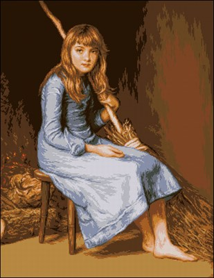 Cinderella - John Everett Millais