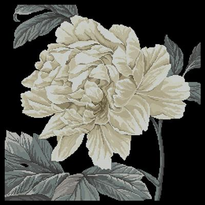 Full Bloom схема вышивки крестом