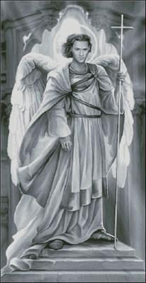 Ангел (в серых тонах)
