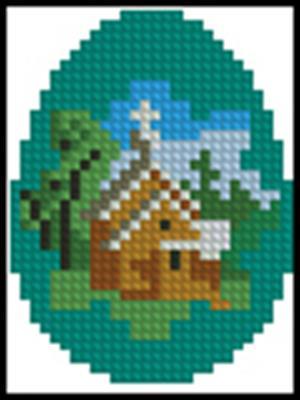 Великоднє яйце 3 схема