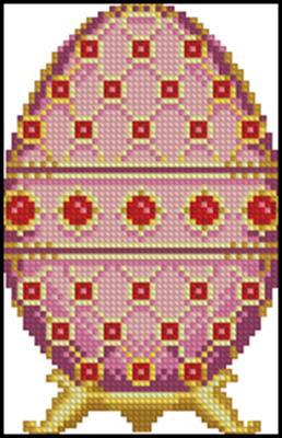 Ruby Rose Faberge Easter Egg скачать схему
