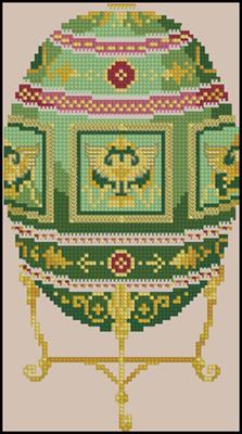 Faberge Egg схема вышивки