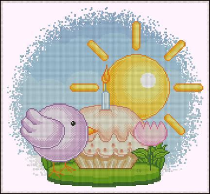 Per la Pasqua 2 скачать схему вышить