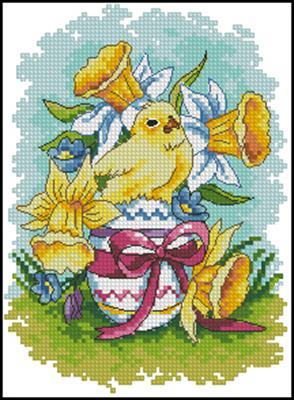 Wielkanocne obrazki вышивка