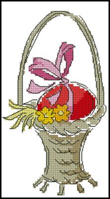 Яичко в корзине