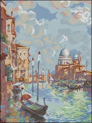 Венеция вышивка схема