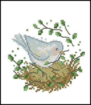 Белая птичка схема скачать