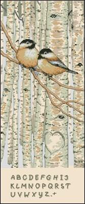 Love Birds вышивка крестом скачать схему