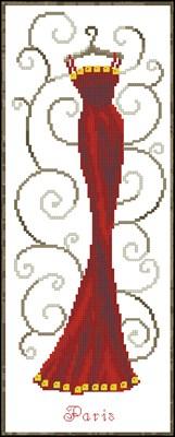 Париж (VERVACO) схема вышивки крестом
