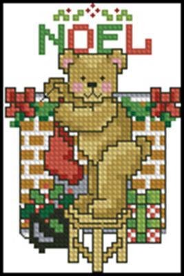 Мишка вышивка крестом схема скачать