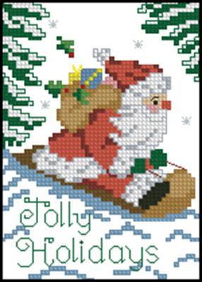 Санта вышивка крестом скачать бесплатно