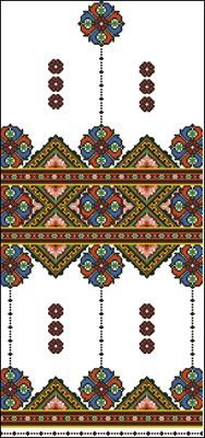 Рушник (Р-4606) вышивка крестом скачать схему бесплатно