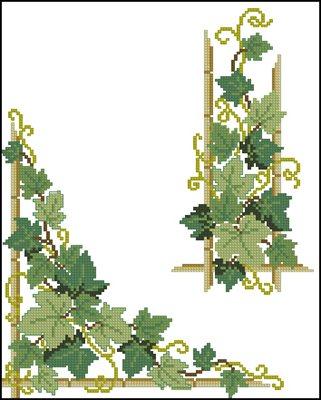 Узор для скатерти вышивка крестом
