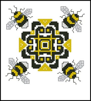 Бискорню с пчелами вышивка крестом ссскачать схему
