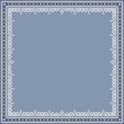 Красивая скатерть (узор) схема скачать вышивать