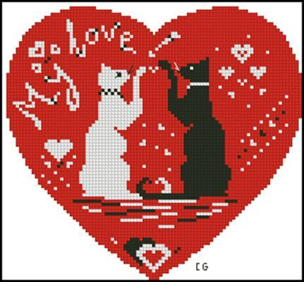 My love! вышивка