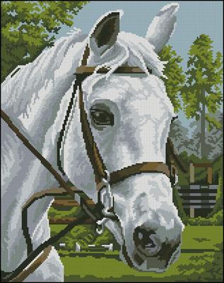 Портрет вышивка крестом