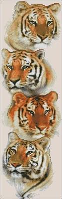 Tiger Pack вышивка крестом скачать бесплатно