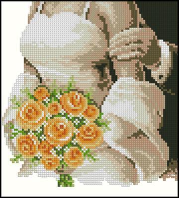 Метрика свадебная вышивка