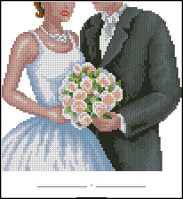 Метрика свадебная молодоженам