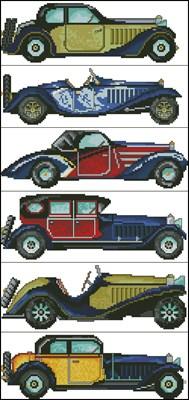 6 ретро автомобилей