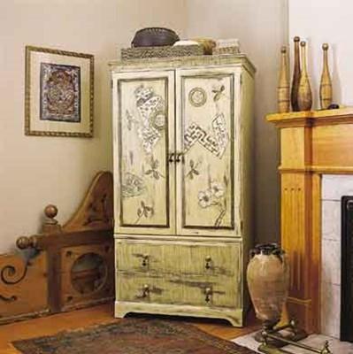 Дизайн старых шкафов