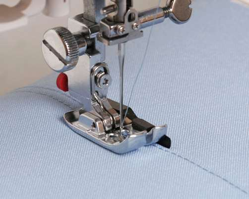 Как делать ровную строчку на машинке