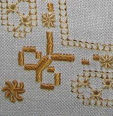 виды швов при вышивке крестом