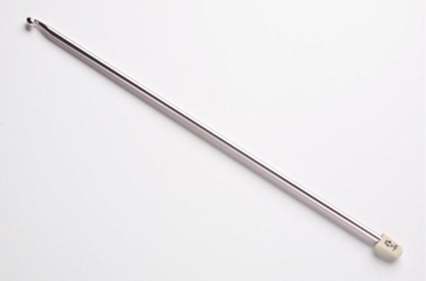 Вязание длинным крючком