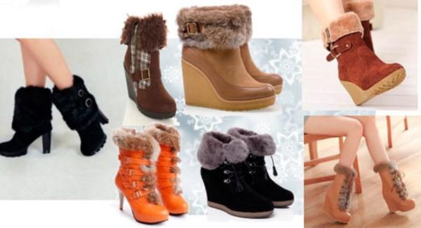 Женсая зимняя обувь