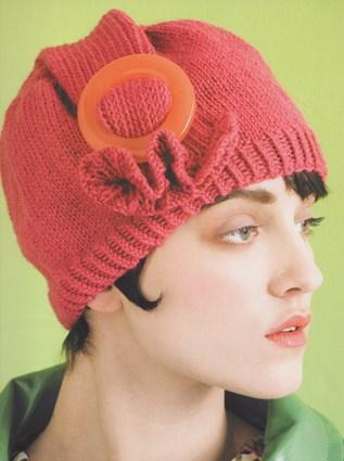 Вязаная женская шапочка «Неприступная»