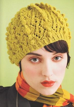 Вязаная женская шапочка «Целеустремленная»