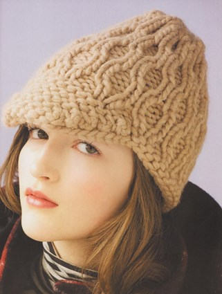 Вязаная женская шапочка «Скептичная»